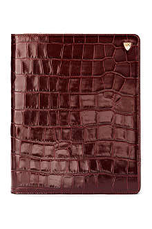 ASPINAL OF LONDON iPad 3 mock-croc leather Stand-Up case