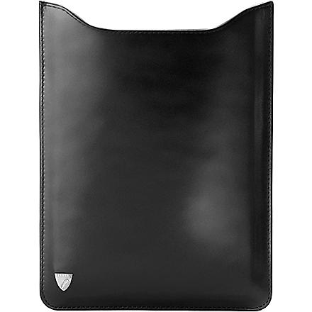 ASPINAL OF LONDON iPad mini leather sleeve (Black