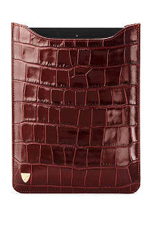 ASPINAL OF LONDON Mock-croc leather iPad Mini sleeve