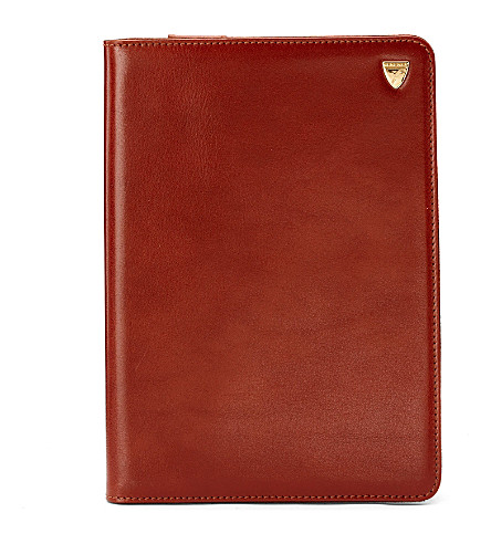 ASPINAL OF LONDON Ipad mini stand up case smooth cognac & (Cognac & espresso