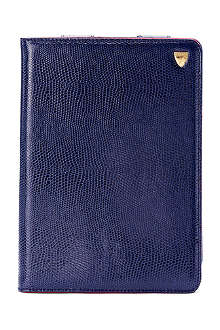 ASPINAL iPad Mini lizard-print leather Stand-Up case