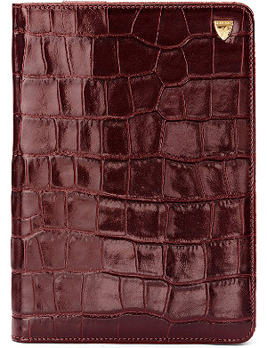 ASPINAL OF LONDON iPad Mini mock-croc leather Stand-Up case