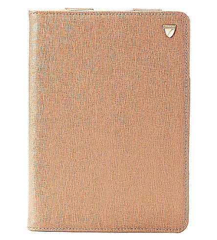 ASPINAL OF LONDON iPad Mini deer saffiano leather stand-up case (Deer