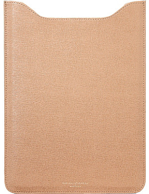 ASPINAL OF LONDON iPad air deer saffiano leather sleeve