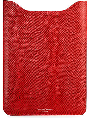 ASPINAL OF LONDON Leather i-Pad Air sleeve