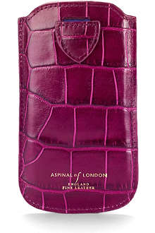 ASPINAL Mock-croc leather iPhone 5 case