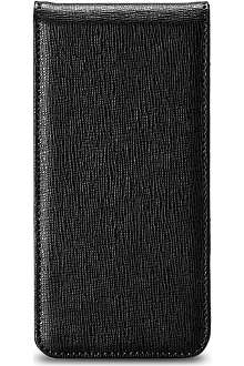 ASPINAL OF LONDON iPhone 5 leather flip case wallet