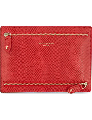 ASPINAL OF LONDON Multi currency leather wallet