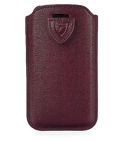 ASPINAL OF LONDON iPhone 6 saffiano-leather case (Berry