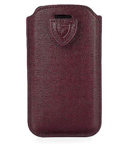 ASPINAL OF LONDON iPhone 6 saffiano-皮革外软壳面料面料面料面料面料 (浆果