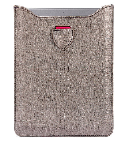 ASPINAL OF LONDON Saffiano leather iPhone 6 case (Grey