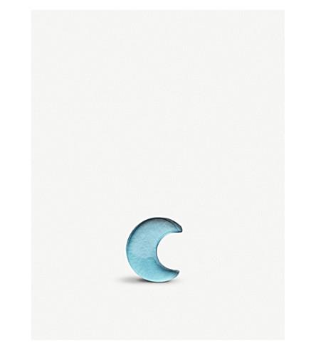 LOQUET Crescent moon topaz charm (Topaz