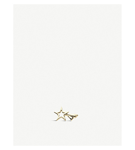 LOQUET Shooting Star 18ct yellow-gold charm (Yellow+gold