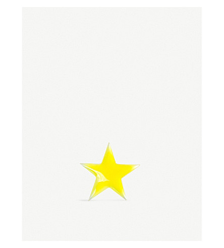 LOQUET You're A Star enamel and mother of pearl charm (Enamel