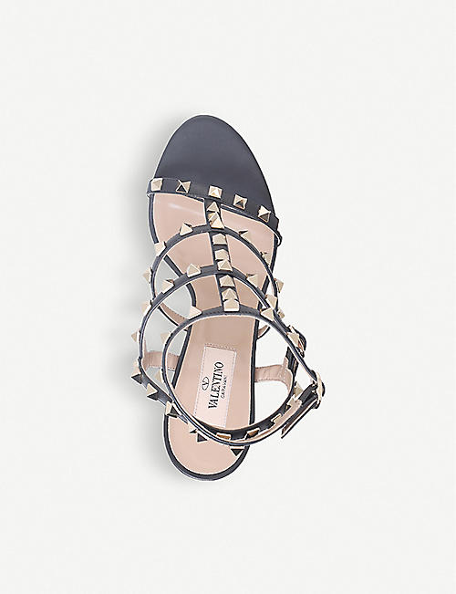 VALENTINO Rockstud 105 studded leather sandals