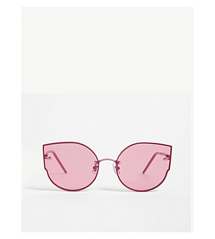 GENTLE MONSTER Amiadam cat eye-frame sunglasses