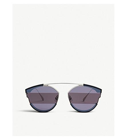 GENTLE MONSTER Cee Cee mirrored stainless steel sunglasses (Black