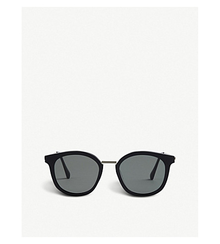 GENTLE MONSTER Dim acetate and stainless steel sunglasses (Black