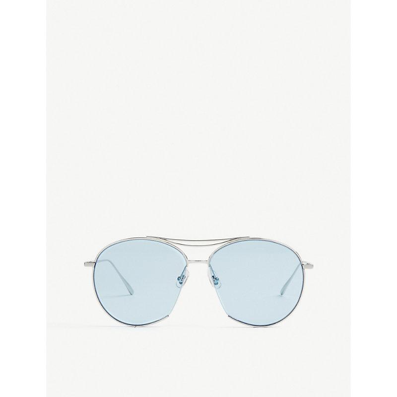 Jumping Jack tinted aviator stainless steel sunglasses