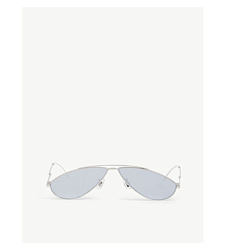 GENTLE MONSTER Kujo 02 oval-frame sunglasses