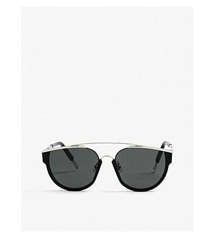 GENTLE MONSTER Loe tinted D-frame sunglasses (Black