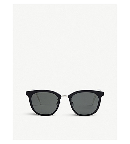 GENTLE MONSTER Pixx acetate and stainless steel sunglasses (Black