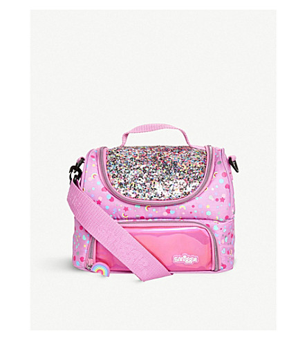 SMIGGLE Dreamy sequined lunchbox (Pink