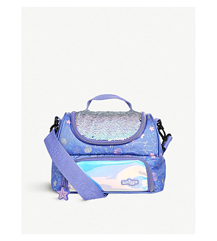 SMIGGLE Dreamy sequined lunchbox (Purple