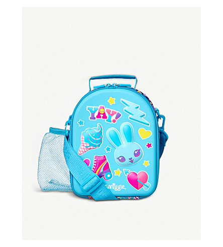 SMIGGLE Stylin Hard Top lunch box (Blue