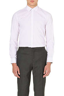 TED BAKER Micro-print cotton shirt