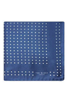 TED BAKER Spotted pocket square