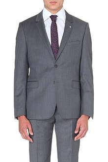 TED BAKER Decjac single-breasted wool suit jacket