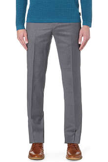 TED BAKER Checked wool trousers