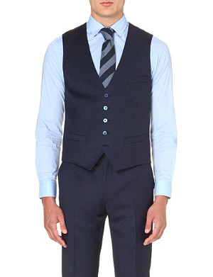 TED BAKER Waydec wool waistcoat