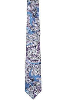 TED BAKER Gosport paisley silk tie