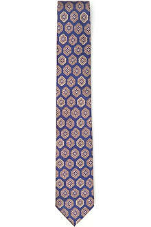 TED BAKER Halland Geometric silk tie