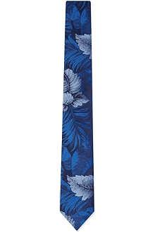 TED BAKER Penbryn floral silk tie