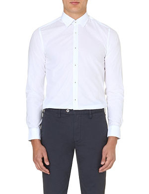 TED BAKER Classic formal single-cuff shirt
