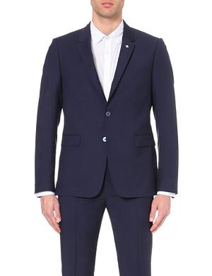 TED BAKER Debonair wool mohair suit jacket