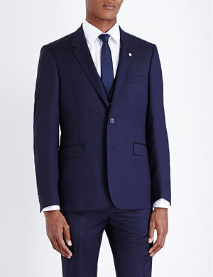 TED BAKER Debonair Modern Fit Wool Jacket