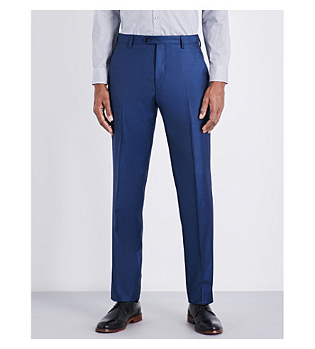 TED BAKER Pitcht Debonair wool trouser (Blue