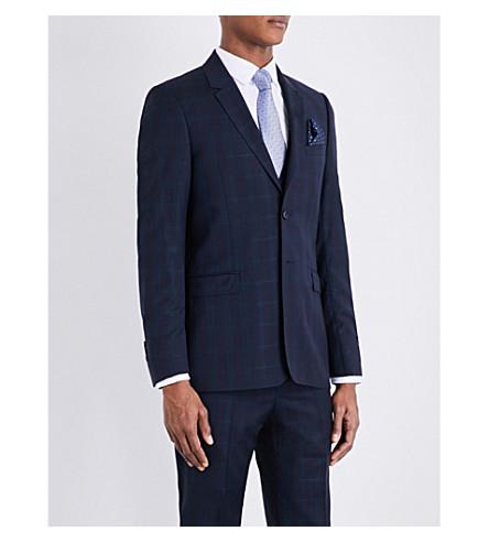 533eb8d57bc2 TED BAKER Joinj Debonair check jacket (Navy