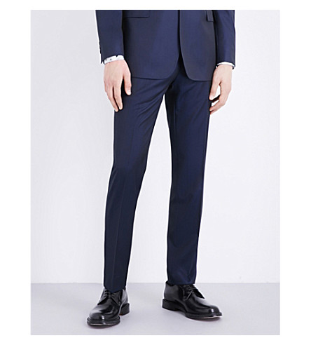 TED BAKER Debonair wool trousers (Navy