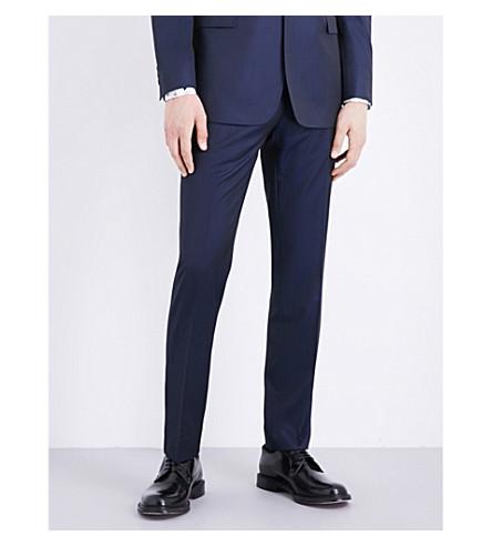 TED BAKER 温文尔雅的羊毛裤子 (海军