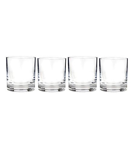 WATERFORD 复古水晶玻璃杯 glassses 9 盎司套四