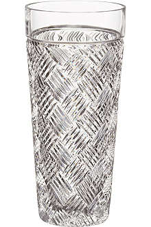 WATERFORD Versa crystal vase 20cm