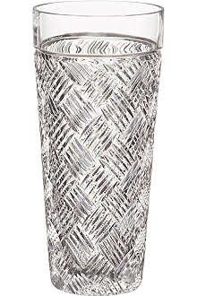 WATERFORD Versa crystal vase 20cm
