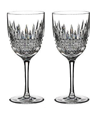 WATERFORD Lismore red wine pair