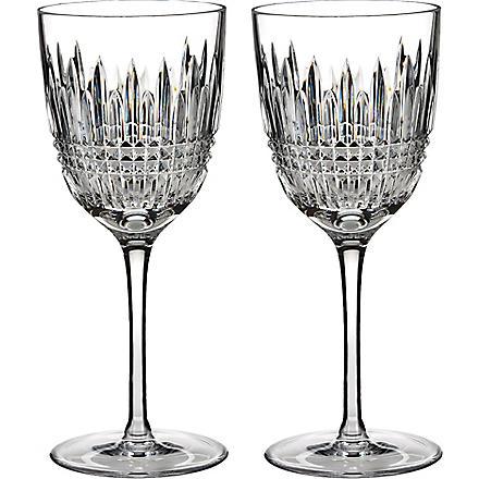 WATERFORD Lismore white wine pair