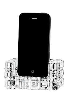 WATERFORD London crystal iPhone docking station